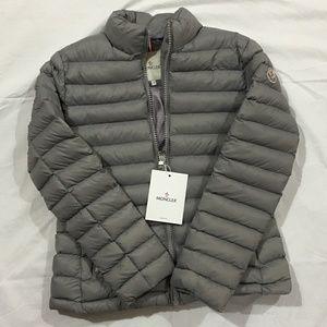 Moncler Women Jacket Gray Puffer Coat
